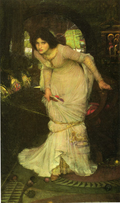 Oil Painting Reproduction of Waterhouse- The Lady of Shalott