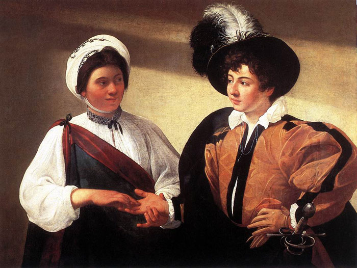 Caravaggio Oil Painting Reproductions- The Fortune Teller