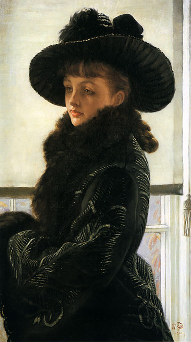 Oil Painting Reproduction of Tissot- Mavourneen