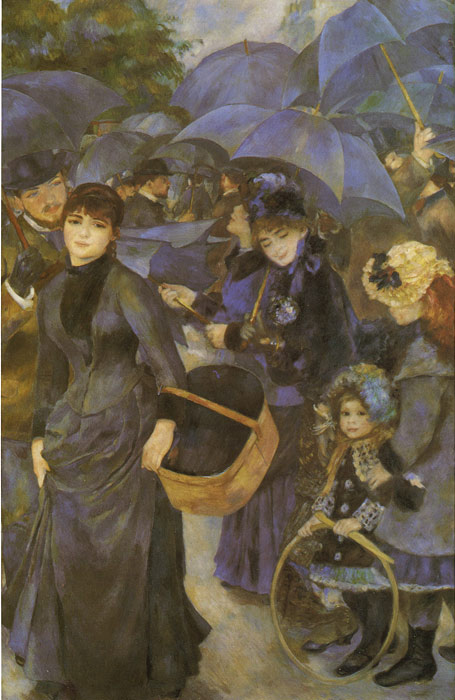 Renoir Oil Painting Reproductions- The Umbrellas