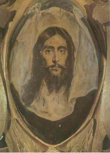 Saint portrait painting, a El Greco paintings reproduction, we never sell Saint portrait poster