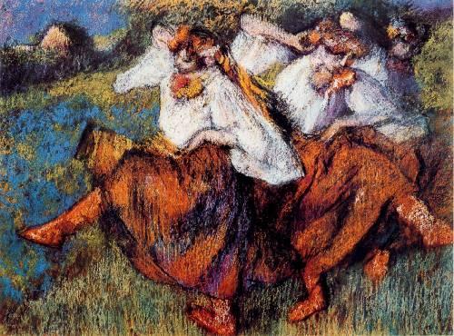 dancing painting, a Edgar Degas paintings reproduction