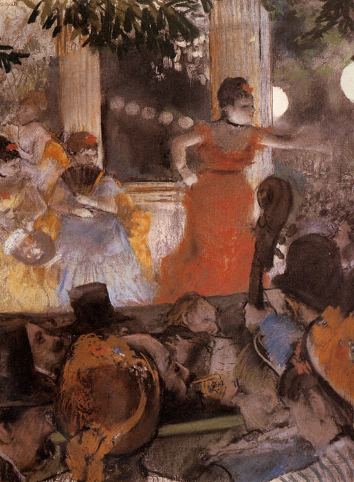 Degas Oil Painting Reproductions- Aux Ambassadeurs