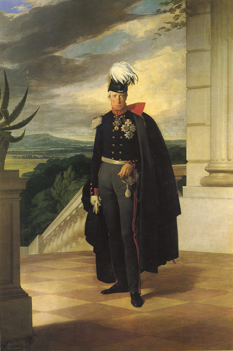 Oil Painting Reproduction of Amerling - Kaizer Franz I