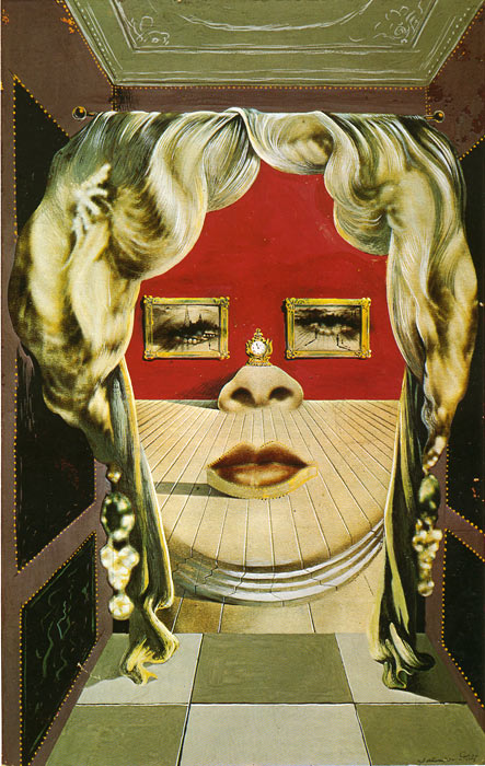 Oil Painting Reproduction of Dali- Mae West