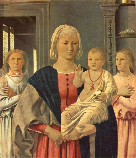 Oil Painting Reproduction of Francesca- Madonna of Senigallia