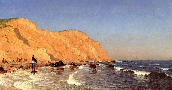 Oil Painting Reproduction of Gifford- Clay Bluffs on No Mans Land