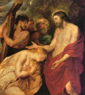 Oil Painting Reproduction of Rubens- Christ After the Punishment