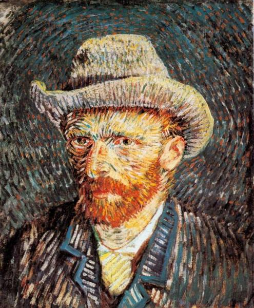 portrait of Van Gogh painting, a Vincent Van Gogh paintings reproduction, we never sell portrait of