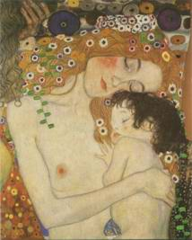 three ages of woman painting, a Gustav Klimt, Austria paintings reproduction, we never sell three