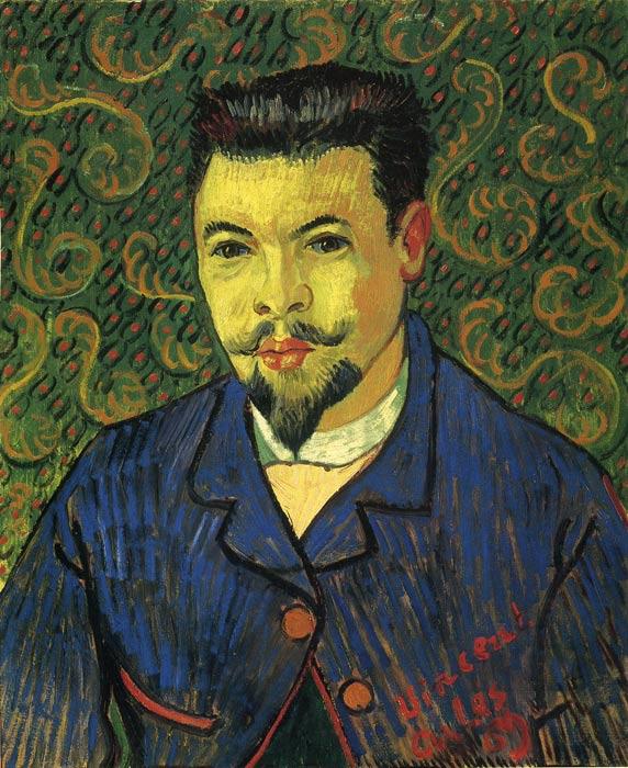 Vincent van Gogh Oil Painting Reproductions - Portrait of Dr Ree