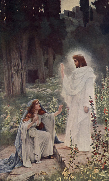 Herbert Gustave Schmalz Oil Painting Reproductions- Rabboni