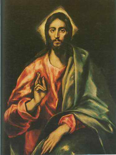 Saviour painting, a El Greco paintings reproduction, we never sell Saviour poster