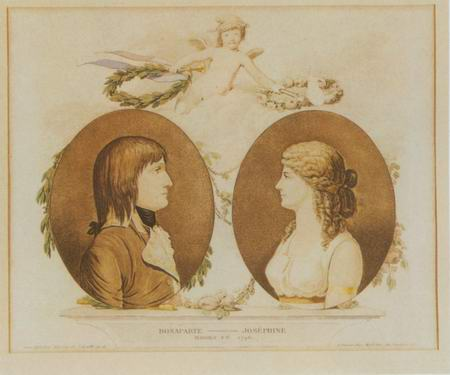 French Emperor and Empress painting, a paintings reproduction