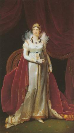 Empress Josephine painting, a Napoleon serials paintings reproduction