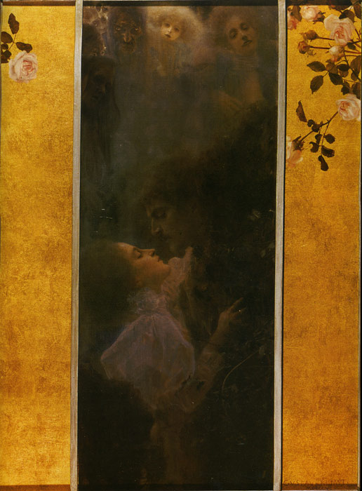 Klimt Oil Painting Reproductions- Love