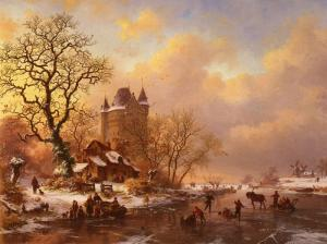 Oil Painting Reproduction of Makart - Symbol of the Merry Life