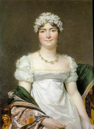 Portrait of Countess Daru painting, a Jacques Louis David paintings reproduction