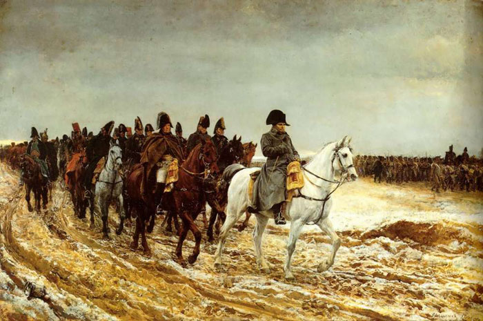 Meissonier Oil Painting Reproductions - The French Campaign