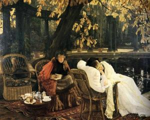 Tissot Oil Painting Reproductions- A Convalescent