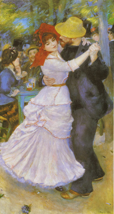 Oil Painting Reproduction of Renoir- Dance at Bougival