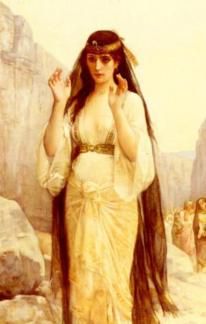 Cabanel Oil Painting Reproductions - The Daughter Of Jephthah