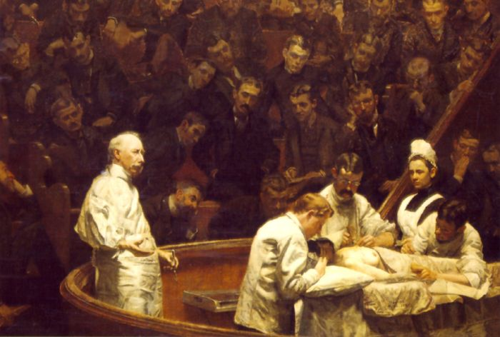 Eakins Reproductions - The Agnew Clinic