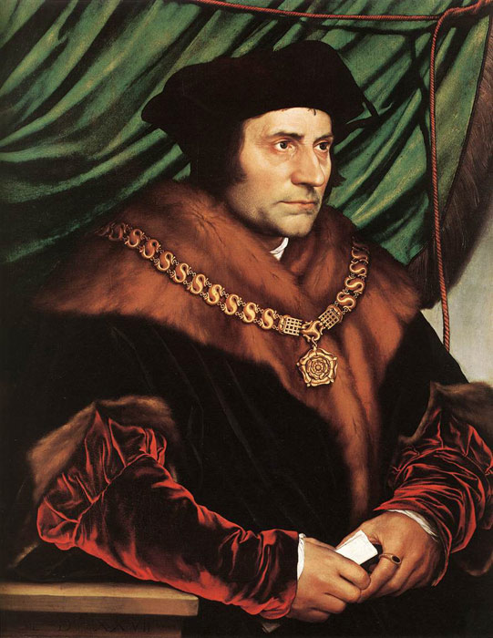 Holbein Oil Painting Reproductions - Sir Thomas More