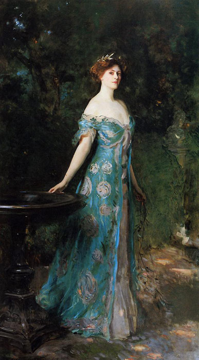 Sargent Oil Painting Reproductions - Millicentr, Duchess of Sutherland