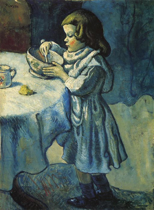 Oil Painting Reproduction of Picasso- Apetit