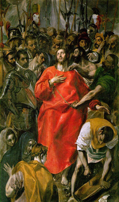 Oil Painting Reproduction of El Greco- The Spoliation