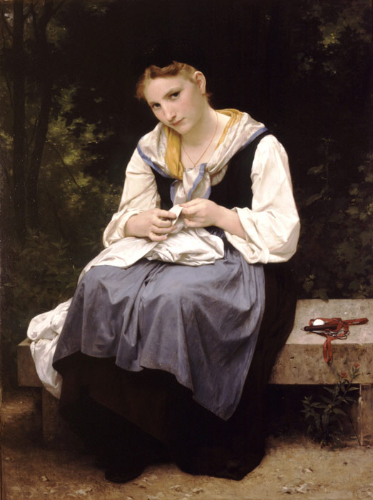 Oil Painting Reproduction of Bouguereau, William Oil Painting Reproduction