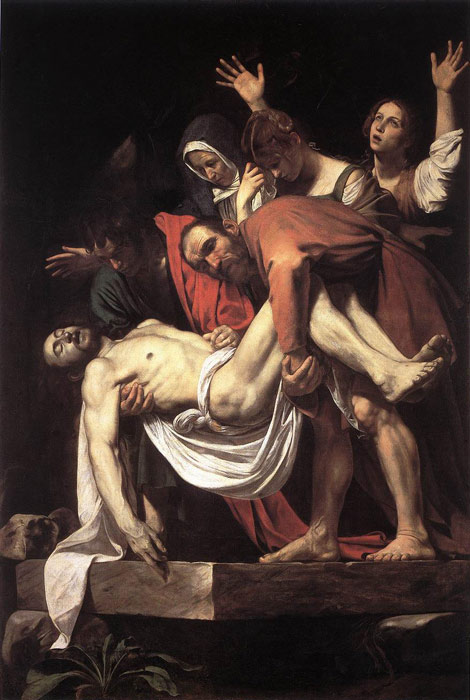 Caravaggio Oil Painting Reproductions- The Entombment