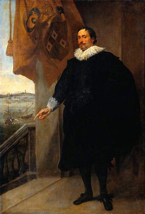 Antony van Dyck Oil Painting Reproductions - Nicolaes van der Borght