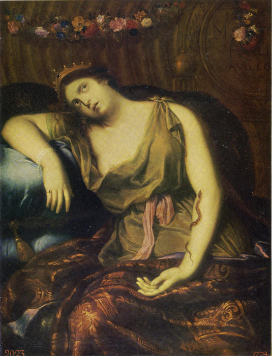 Mignard Oil Painting Reproductions -Death of Cleopatra