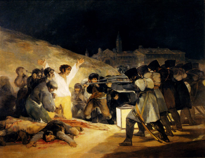 Oil Painting Reproduction of Goya- May 3, 1808