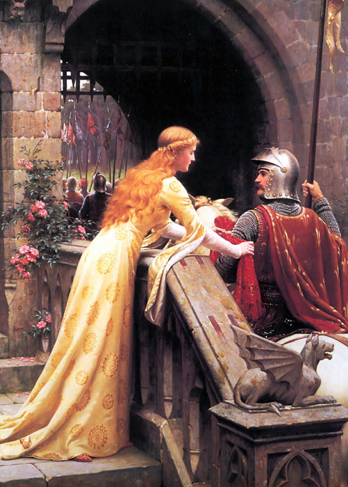 Oil Painting Reproduction of Leighton- God Speed!