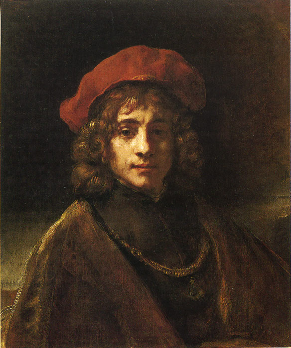 Oil Painting Reproduction of Rembrandt- Titus