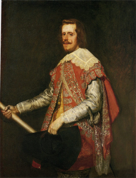 Velazquez Oil Painting Reproductions - King Philip IV of Spain
