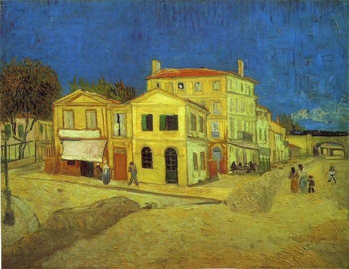 Vincent van Gogh Oil Painting Reproductions - The Yellow House