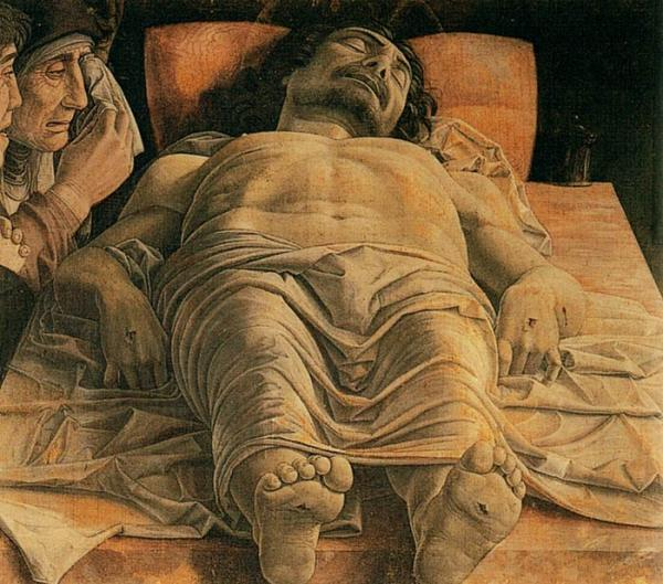 Oil Painting Reproduction of Mantegna- The Lamentation over the Dead Christ