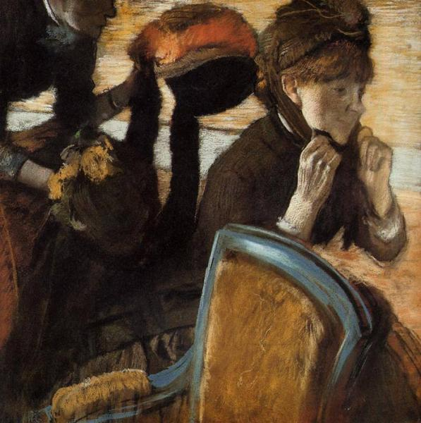 Degas Oil Painting Reproductions- Interior