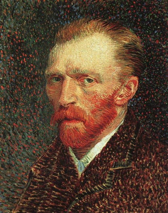 Oil Painting Reproduction of van Gogh - Self-Portrait