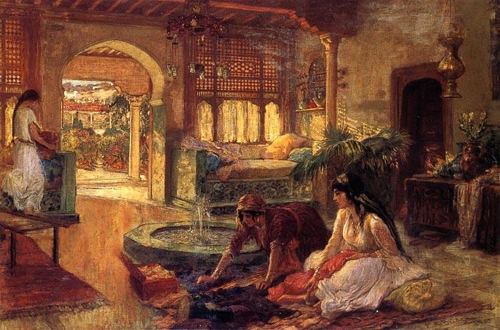 Bridgeman Oil Painting Reproductions - Orientalist Interior