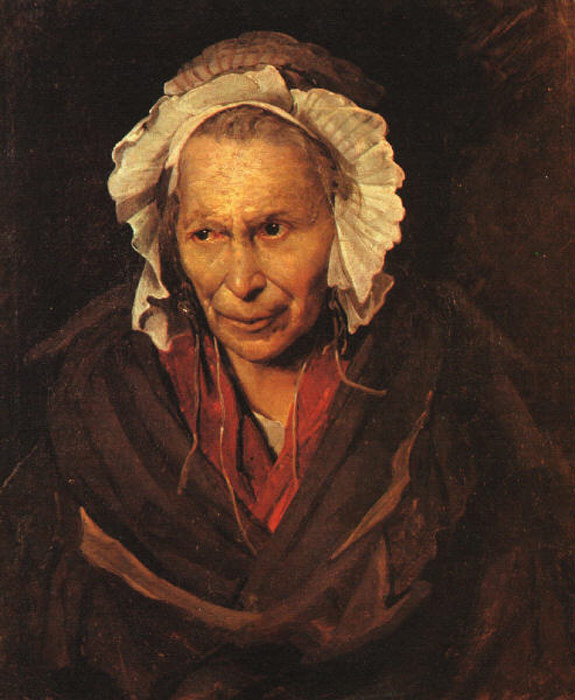 Oil Painting Reproduction of Gericault - Madwoman