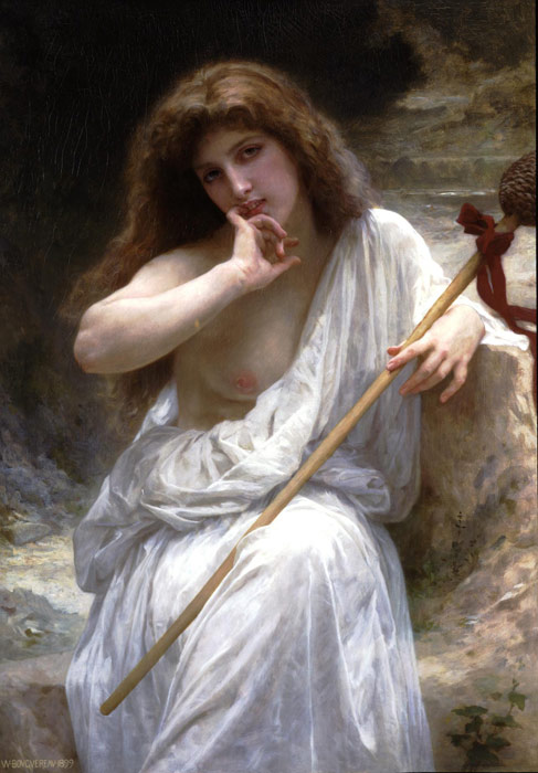 Bouguereau Oil Painting Reproductions - Bacchante