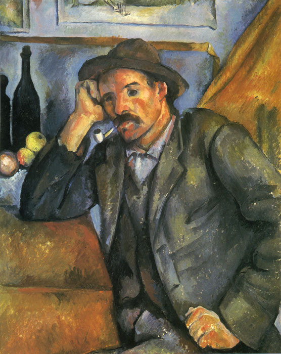 Cezanne Oil Painting Reproductions- The Smoker