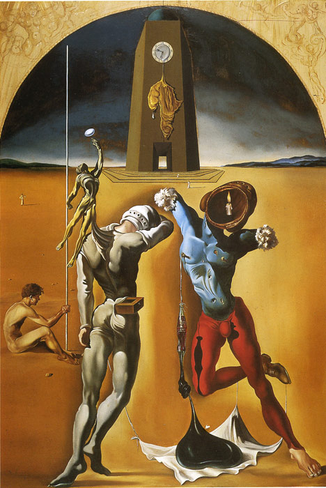 Dali Oil Painting Reproductions - The Poetry of America