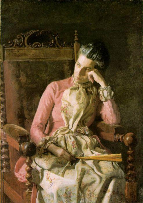 Eakins Reproductions - Miss Van Buren