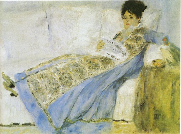 Renoir Oil Painting Reproductions- Mme. Monet